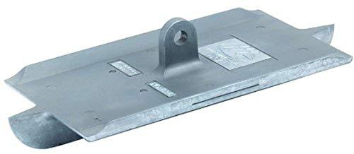 MARSHALLTOWN Concrete Groover 8 X 4 3/8 Zinc Walking 1D X 3/8 Bit