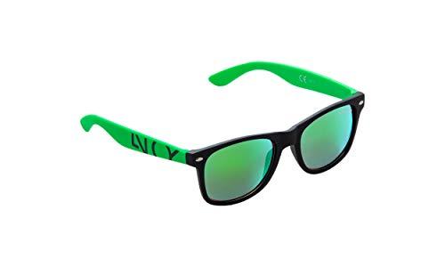 NOBLEND Sonnenbrillen aus Österreich - UV400 - Verspiegelt - Grün
