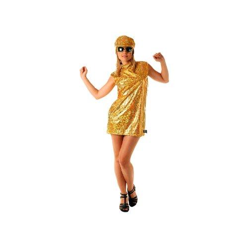 Party Pro- Robe 70's avec casquette, Womens, 8650943, M/L