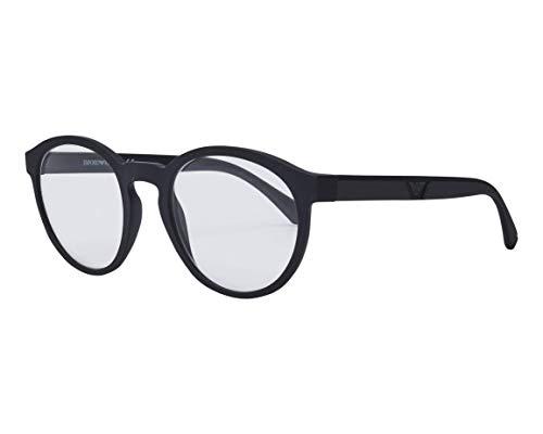 Emporio Armani Gafas de Sol EA 4152 Black/Clear Black/Grey Clip-On 52/21/145 hombre