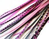 Sexy paillettes rose et noir Mix 10,2 cm -7 \