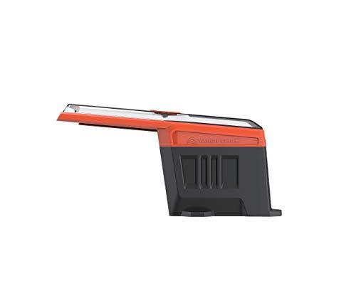 Yard Force AR SH01 Mähroboter-Garage SH01-für AMIRO, LUV, X Modelle Roboter-Rasenmäher zum Schutz vor Regen und Sonne, mit Stabiler Konstruktion, schwarz/orange - 2