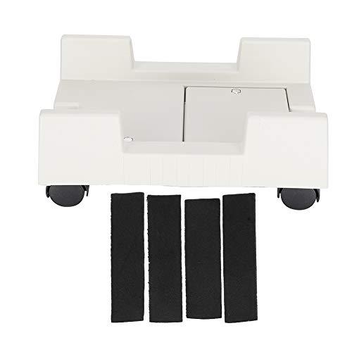 Soporte móvil ajustable 4 ruedas giratorias Disipación de calor Resistente a la presión Simple y conveniente para la oficina