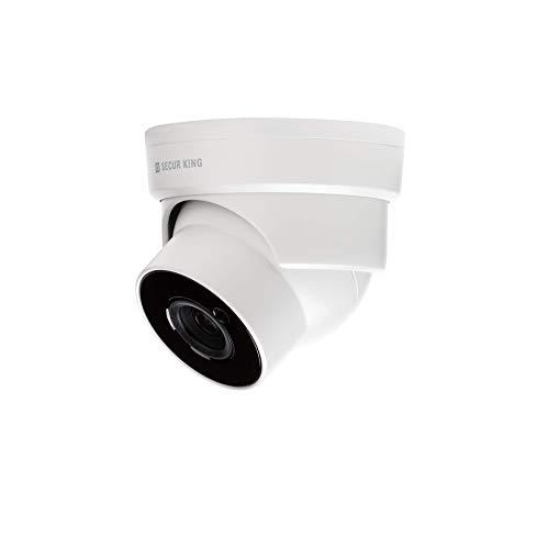 SECUR KING - Cámara Dome 4 en 1 HD 5 MP óptica varifocal, cámara de vigilancia con visión nocturna, IR 20 m.