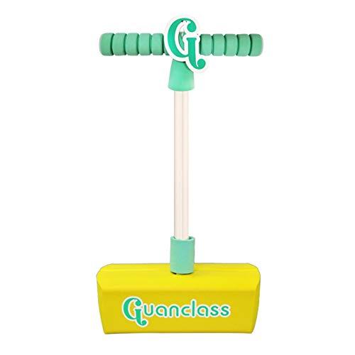 heresell Pogo Jumper seguro Pogo Pogo Stick con sonido, espuma Pogo, juguete para niños y niñas, regalo de cumpleaños al aire libre