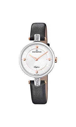Candino Reloj Análogo clásico para Mujer de Cuarzo con Correa en Cuero C4658/2