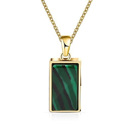 collar Collar Verde De Piedras Preciosas Naturales, Collares Pendientes, Joyería Para Mujeres, Niñas, Regalo De Cumpleaños