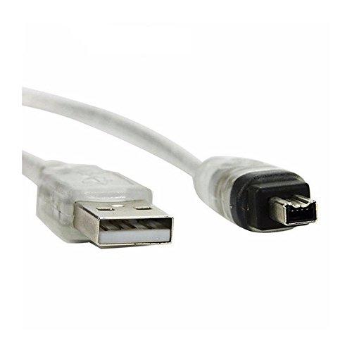 Huimai USB Macho a Firewire IEEE 1394 4 Pines Male iLink Cable...