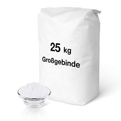Natron - Natriumbicarbonat 25 kg | Backsoda | höchste Reinheit 99,3 % | ohne Zusätze | geprüfte Lebensmittelqualität | Gluten- u. Lactosefrei | Golden Peanut