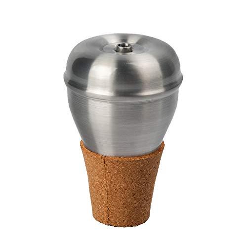 H HILABEE Trompete Mute, Aluminiumlegierung Trompete Mute Dämpfer Schalldämpfer Instrument Zubehör