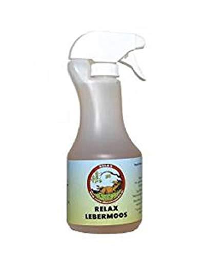Relax Lebermoos 500 ml Spray für Pferde Hautpflege
