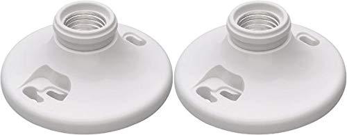 Legrand - Pass & Seymour 276WHCC18 Phenolic Keyless Lamp Holder, Easy Installation - 2 Pack