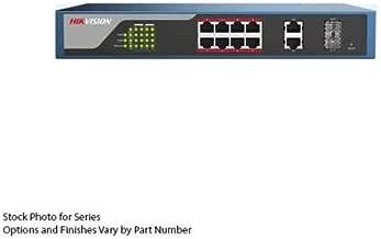 DS-3E1310P-E 8 Port Web-Managed PoE Switch, Hikvision