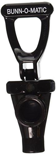 Plastic Black Bunn 03260.0003 Blank Faucet Assembly