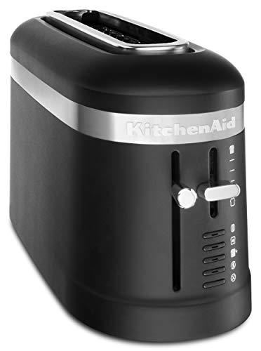 KitchenAid KMT3115BM 2 Slice Long Slot High-Lift Lever Toaster Black Matte