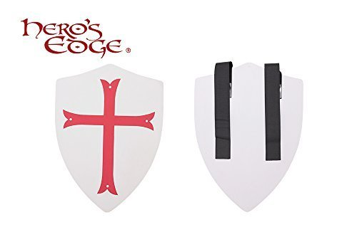 Crusader Cross Foam Shield for Cosplay and Larp by Hero's Edge