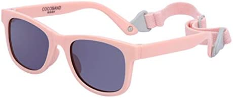 COCOSAND Baby Sunglasses with Strap Baby Pink product image