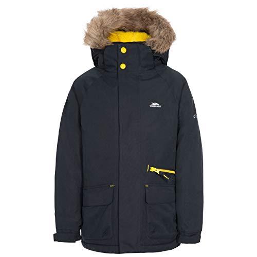 Trespass Upbeat Kids Waterproof Parka Jacket Black 78