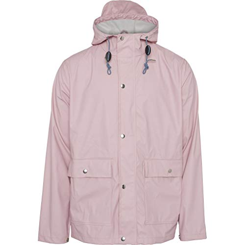 Knowledge Cotton Apparel - Giacca impermeabile Vegan Pink Nectar Colore: rosa. L
