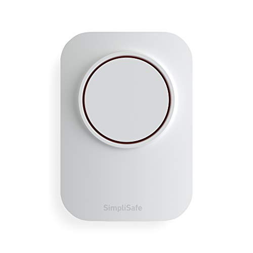 SimpliSafe Wireless 105Db Auxiliary Siren - Compatible with Home Security System (New Gen)