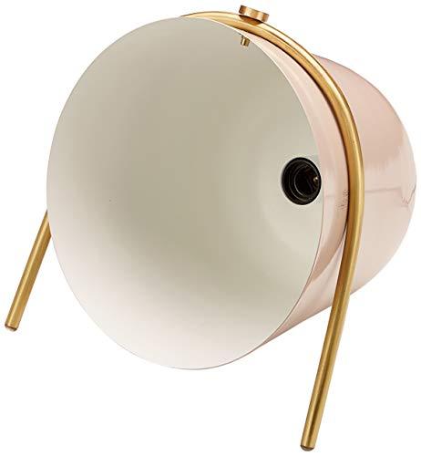 Homemania Lampa stojąca Belle, lampa stojąca, korytarz, różowa, biała, złota z żelaza, mosiądz, 29 x 31 x 35 cm, 1 x E14, 25 W
