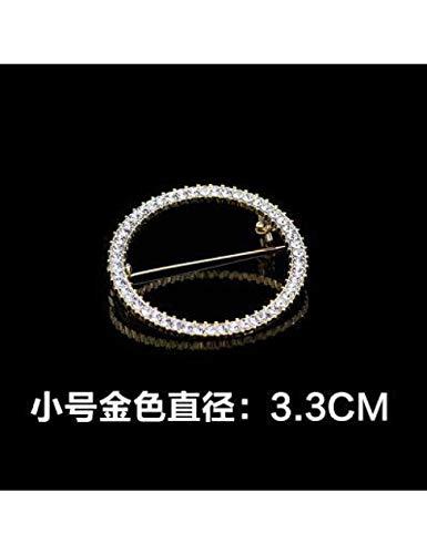 ERHUAN Broches De Cristal Creativos Simples Pins Broche