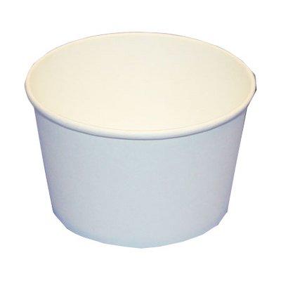 Eisbecher Hartpapier 0,25 l weiß - 1200 Stück