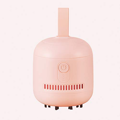 JISULIFE Desktop Mini Vacuum Cleaner, Portable Table High Suction Vacuum, Desk Cordless Vacuum with 2 AA Batteries up to...