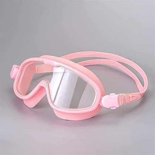 LANGTAOMY Gafas de Natación Anti- Niebla UV Natación Gafas Big Frame Swim Gafas Professional Natación Mascarilla Impermeable Adulto para Hombres y Mujeres Gafas (Color : L)