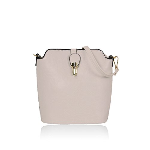 Craze London, Borsa a spalla donna Rosa rosa chiaro small