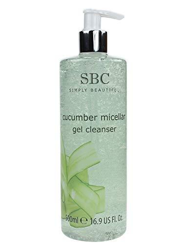 SBC Cucumber Miceallar Gel Cleanser • SBC GURKE Mizellen Reinigungsgel 500ml