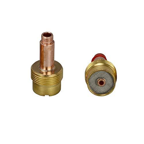 995795 Grande Diámetro TIG Gas Lens Collet Cuerpos SR WP 17 18 26 Antorcha 2PK