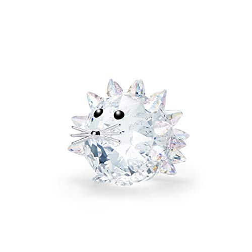 Swarovski 125th Anniversary Replica Hedgehog, Collectable Figurine in Shimmering White Crystal for Hedgehog and Pet lovers