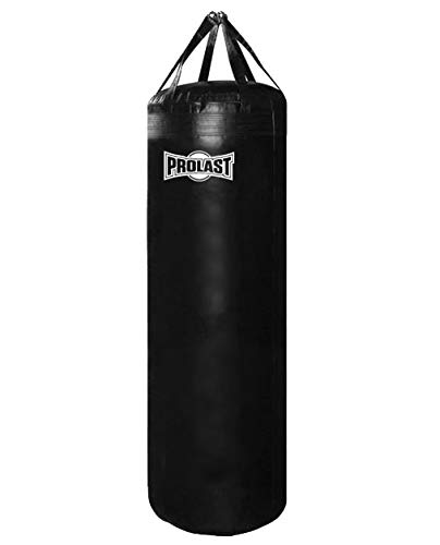 PROLAST 200 LB Heavy Punching Bag for Punching and Kicking- Great for Boxing, MMA and Muay Thai (200 LB 5FT XL, Filled)