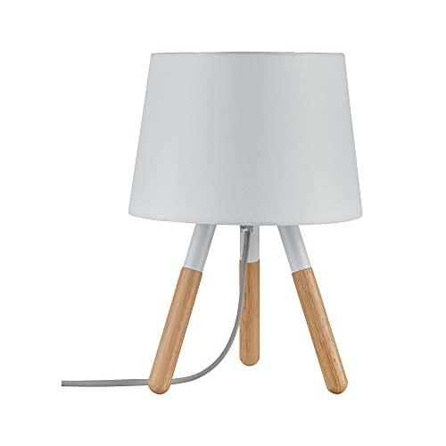 Paulmann 79646 Neordic Berit máx. 1x20 W, luminaria de sobremesa E27, lámpara para mesita de...