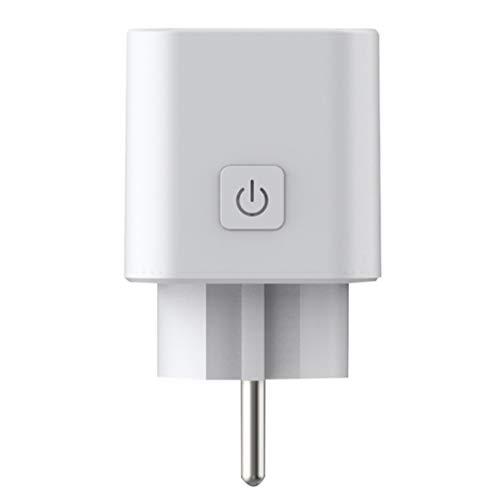 EU Plug WiFi Smart Socket Afstandsbediening Timing Spraakbesturing Staat Vervagende huishoudelijke apparaten Outlet