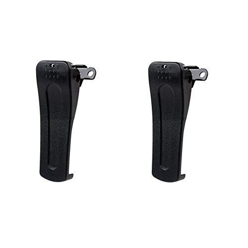 Sharplace 2pcs Plástico Clip de Cinturón de BaoFeng BF-666s 777S 888s Walkie Talkie