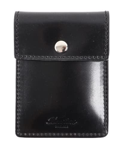 [Boosters]ブースターズ シェルコードバン 携帯灰皿 革 ポケット灰皿 におわない 高級 カードケース メンズ プレゼント ブラック