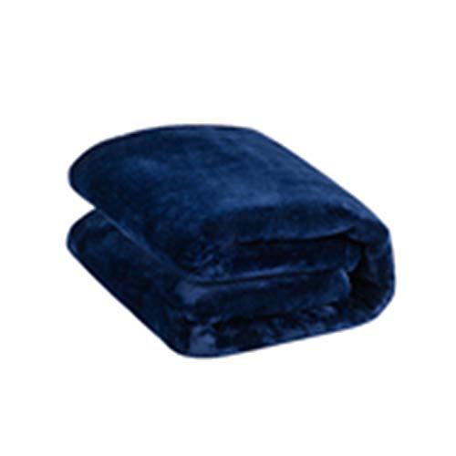 EARJE Electric blanket Carbon fiber individual Double heating Knee blanket Mites Antibacterial Plumbing blanket,blue