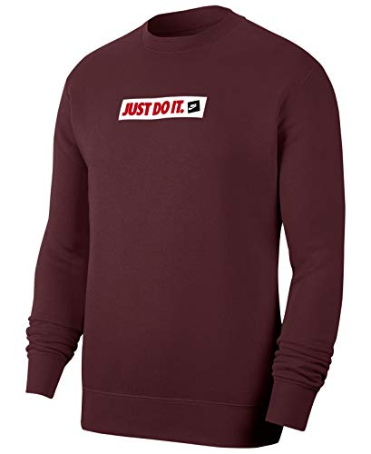 Nike Herren Sportswear Sweatshirt, Braun (Night Maroon), 2XL