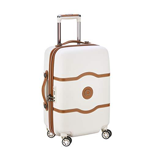 discount shop new specials best website DELSEY Paris Chatelet Air Equipaje de Mano, 55 cm, 39 Liters, Blanco  (Angora)