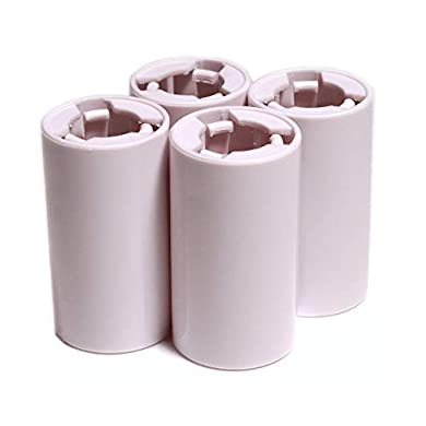 ET 4 Stück AAA zu AA Batterie Zelle Konverter Adapter  Gehaeuse Halter