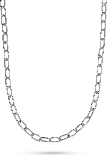 JETTE Damen-Kette 925er Silber rhodiniert One Size 87603601