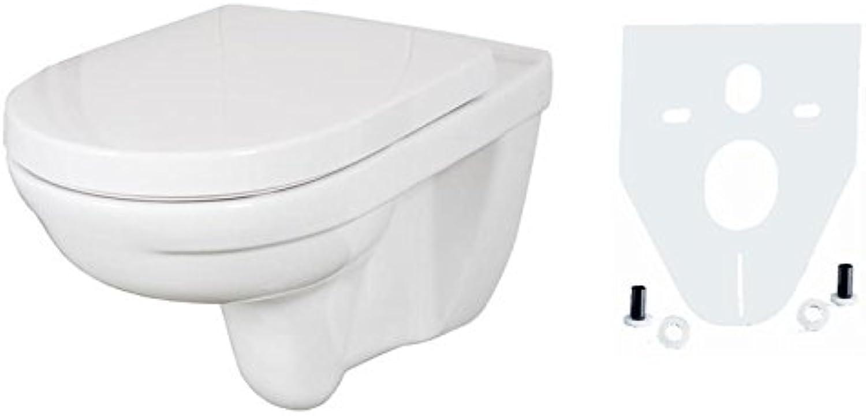 V&B ONovo Wandtiefspül-WC spülrandlos directflush mit CeramicPlus und Sitz softclosing