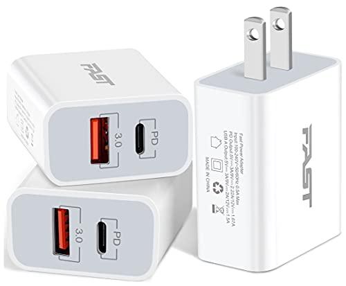 20W USB C Fast Charger, JUNVANG Dua…