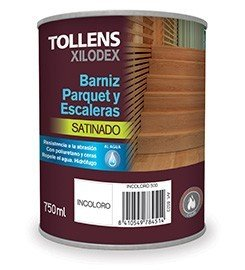 TOLLENS - BARNIZ PARQUET AL AGUA SATINADO 750 ML