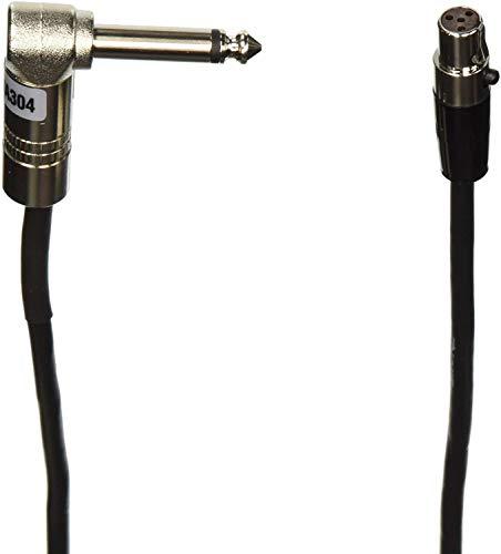 シュアー SHURE ボディーパック型送信機用接続ケーブル0.65m WA304