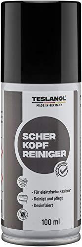 Teslanol 26050 Scherkopfreiniger zur Pflege elektrischer Rasierer - 100 ml