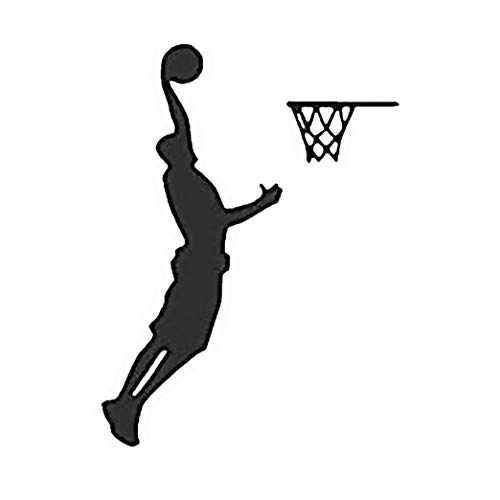 Adesivi Murali Ball Is Life Versione 2 Stickers NBA Muri in Camera da letto Dormitorio e Soggiorno Decorazione Parete