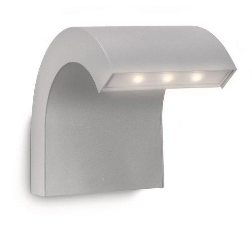 Philips 163558716 Riverbank Lanterne Murale LED 7,5 W Aluminium